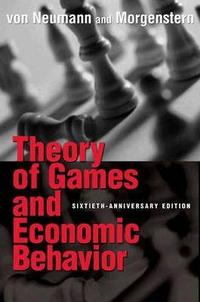 Theory of Games and Economic Behavior cover