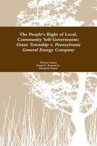 The People's Right to Local Community Self-Government cover
