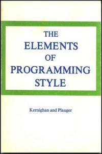 The Elements of Programming Style cover