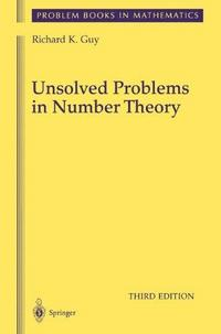 Unsolved Problems in Number Theory cover