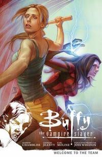 Buffy the Vampire Slayer Season 9 cover