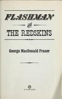 Flashman and the Redskins cover
