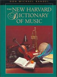 Harvard Dictionary of Music cover