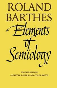 Elements of Semiology cover