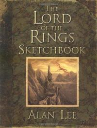 The Lord of the Rings Sketchbook cover