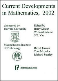 Current Developments in Mathematics, 2002 cover