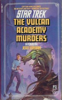 The Vulcan Academy Murders cover