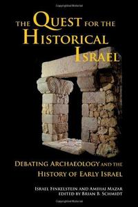 The Quest for the Historical Israel cover