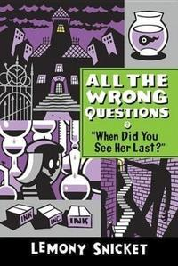 When Did You See Her Last? cover