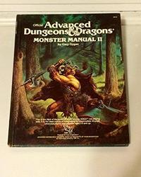Advanced Dungeons and Dragons Monster Manual II cover