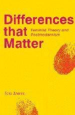 Differences that Matter: Feminist Theory and Postmodernism cover