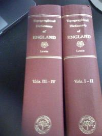 A Topographical Dictionary of England cover