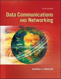 Data communications and networking cover