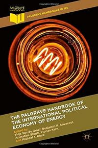 The Palgrave Handbook of the International Political Economy of Energy cover