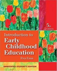Introduction to early childhood education cover