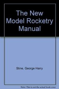 The new model rocketry manual cover