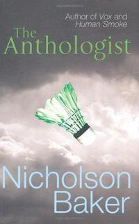 The Anthologist cover