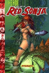 Art of Red Sonja cover