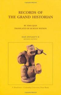 Records of the Grand Historian cover