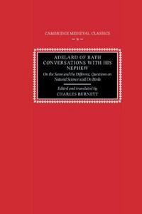 Adelard of Bath, Conversations with his Nephew cover