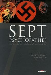 Sept, tome 1 : Sept Psychopathes cover
