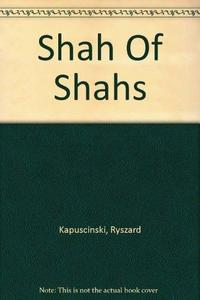 Shah of Shahs cover