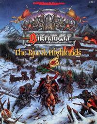 The Rjurik Highlands cover