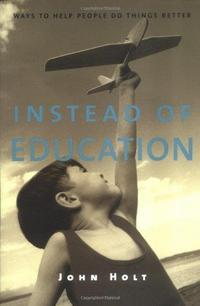 Instead of Education cover