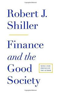Finance and the Good Society cover