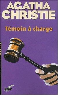 Témoin à charge cover