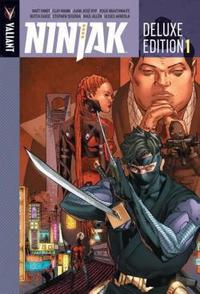 Ninjak Deluxe Edition Book 1 cover