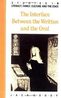 The Interface between the Written and the Oral cover