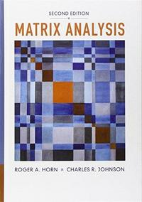 Matrix Analysis cover