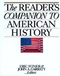 The Reader's Companion to American History cover