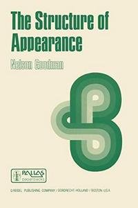 The Structure of Appearance (Boston Studies in the Philosophy of Science) cover