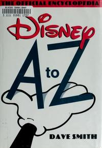 Disney A to Z cover