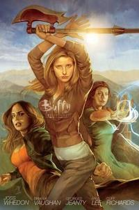 Buffy the Vampire Slayer Season 8 Library Edition Volume 1 cover
