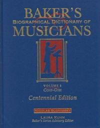 Baker's Biographical Dictionary of Musicians cover