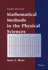 Mathematical methods in the physical sciences cover
