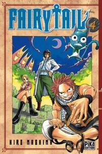 Fairy Tail - Vol. 4 cover