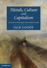 Metals, Culture and Capitalism cover
