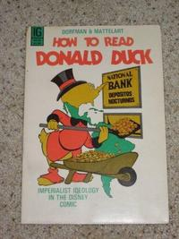 How to Read Donald Duck cover