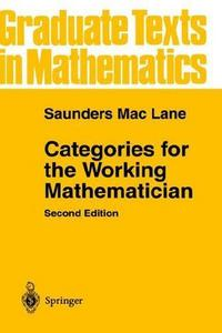 Categories for the Working Mathematician cover