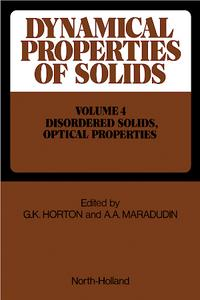Dynamical Properties of Solids cover