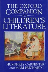 The Oxford Companion to Children's Literature cover