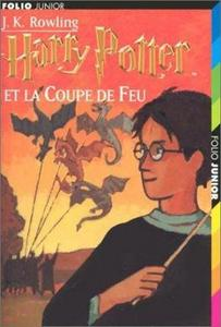 Harry Potter et la coupe de feu cover