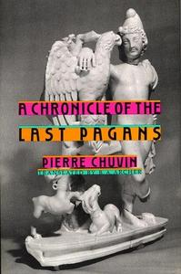 A chronicle of the last pagans cover