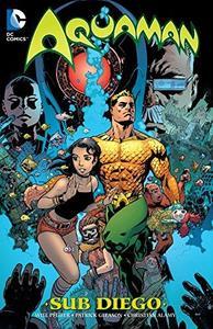 Aquaman Sub-Diego cover