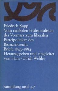Vom radikalen Frühsozialisten des Vormärz zum liberalen Parteipolitiker des Bismarckreichs cover