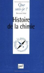 Histoire de la chimie cover